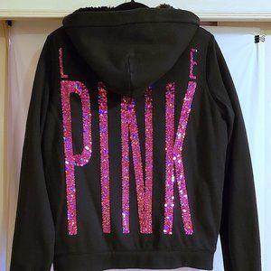 Victorias Secret Fuzzy Hooded Sweatshirt